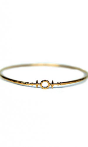 Heim of Awe Gold Bangle