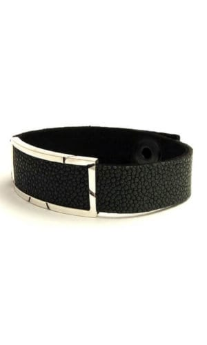 Stingray Leather Wrist Band