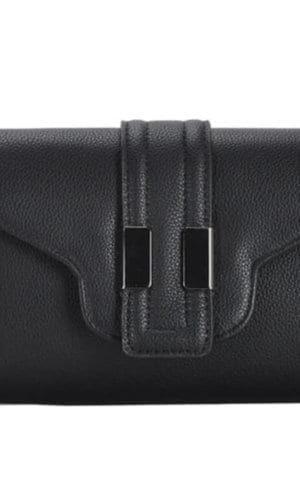 Vegan Leather Clutch Bag