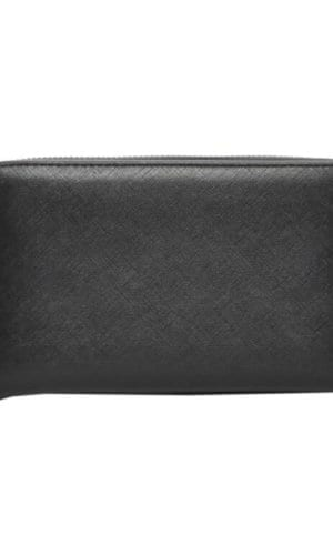 Black Vegan Leather Wallet