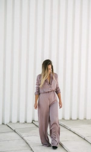 Dusty Pink Jumpsuit