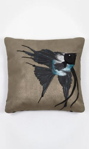 Marble Angelfish Cushion