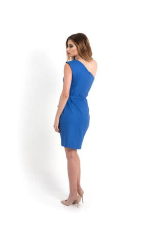 Modena Blue Pencil Dress