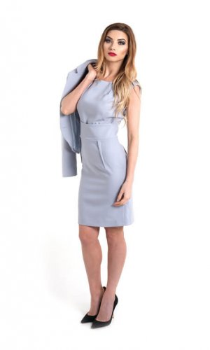 Ferrara Light Grey Dress