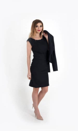 Ferrara Black Dress