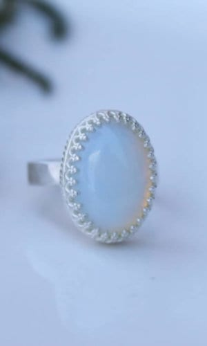 Sterling Silver Opalith Ring