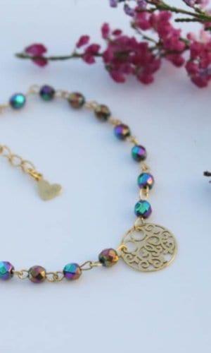 Laila Hematite Bracelet