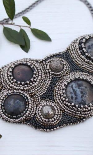 Galaxy Statement Collar Necklace