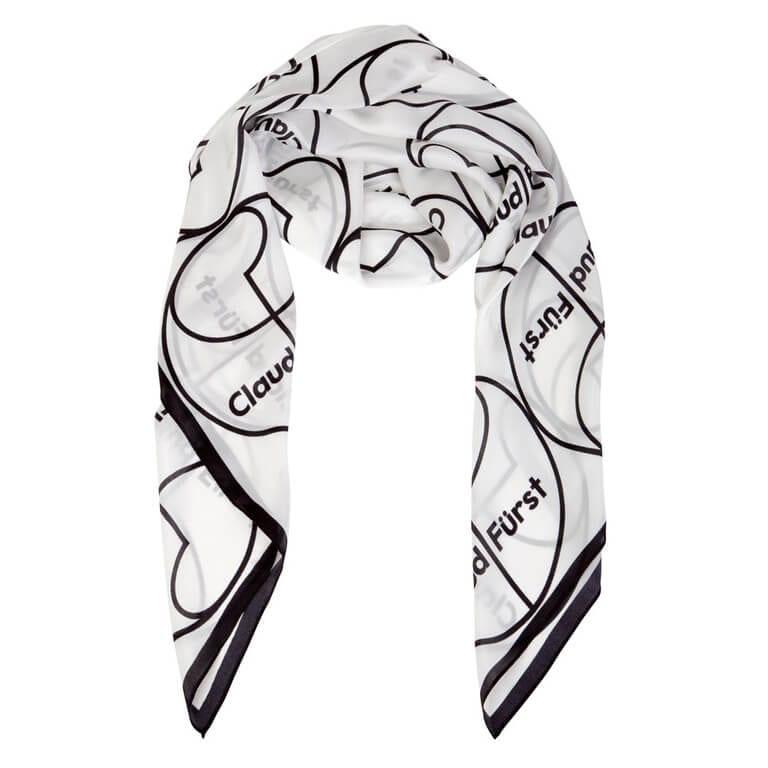 Black & White Logo Scarf