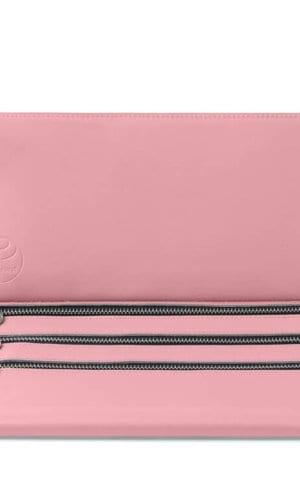 Baby Pink Clutch Bag