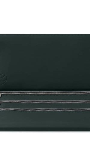 Deep Green Clutch Bag