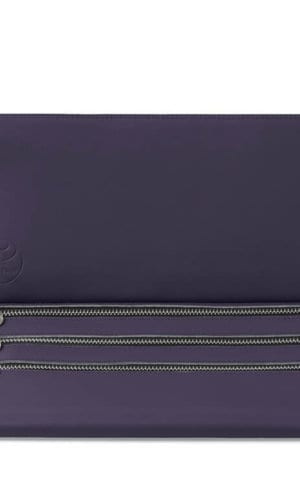 Lilac Clutch Bag