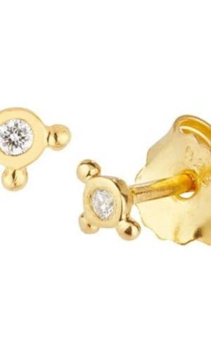 Lilja Diamond Stud Earrings