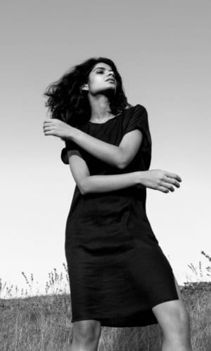 Sustainable Black Tunic