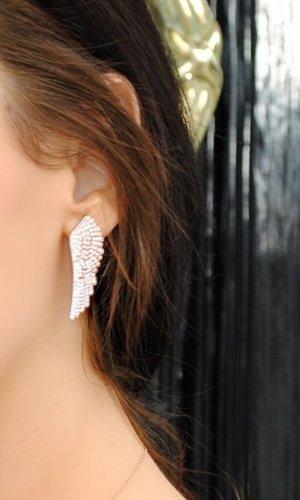 Gold Vermeil Angel Wing Earrings