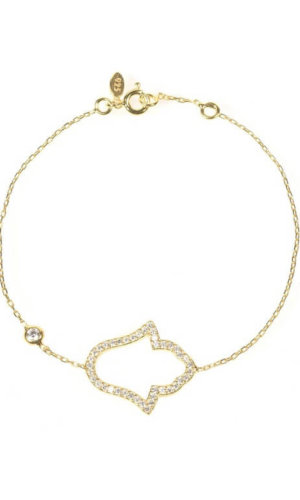 Open Hamsa Bracelet