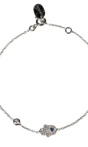 Crystal Hamsa Bracelet
