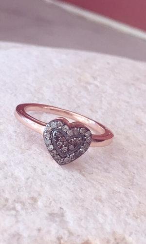 Crystal Mini Heart Ring