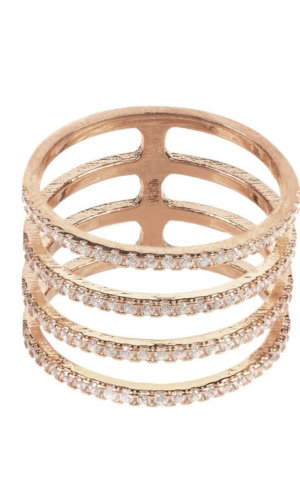 Geometric Crystal Ring