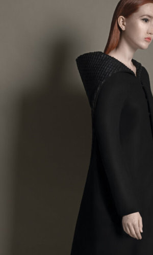 Structured Black Coat