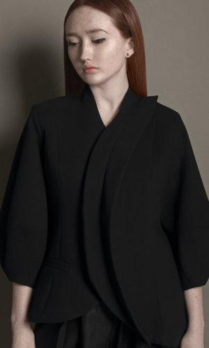 Black Structured Jacket