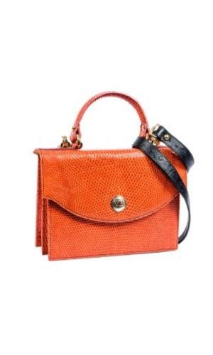 Atzmut Orange Iguana Bag
