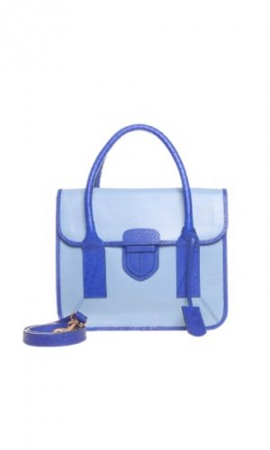 Keshia Colourblock Satchel Bag