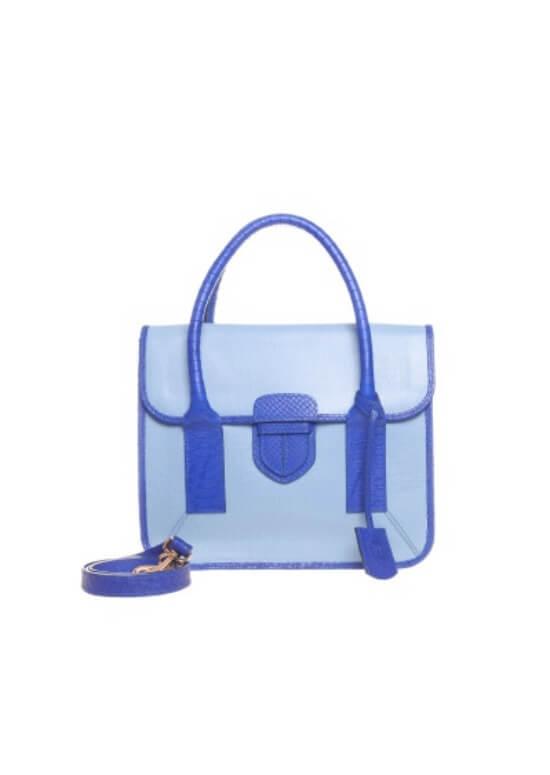 Keshia Colourblock Satchel Bag