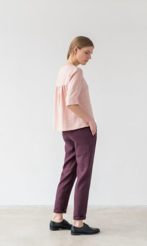 Frances Top in Light Pink