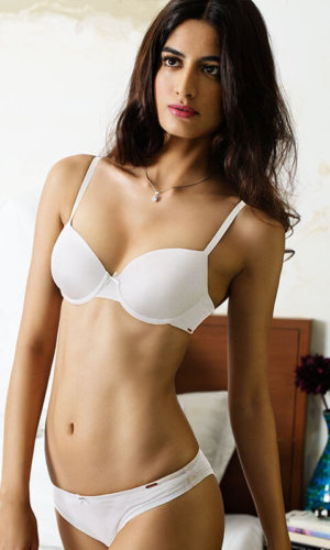 Everyday Beauty White Bra