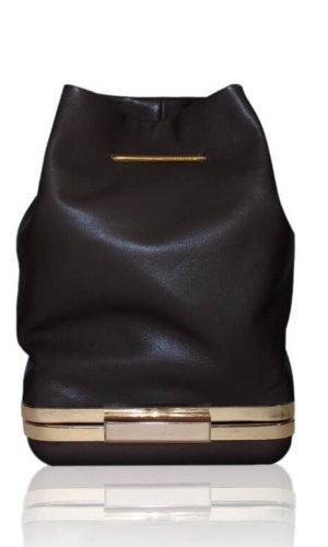 Black Hulet Bucket Bag