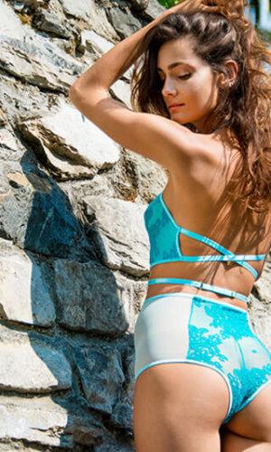 Basilico Turquoise Top