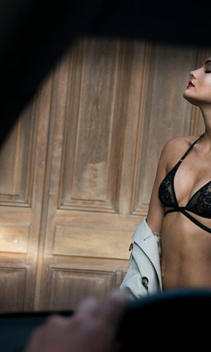 Mirto Black Lace Bra