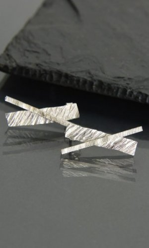 4ba07a1d3842a7 Silver Geometric Earrings