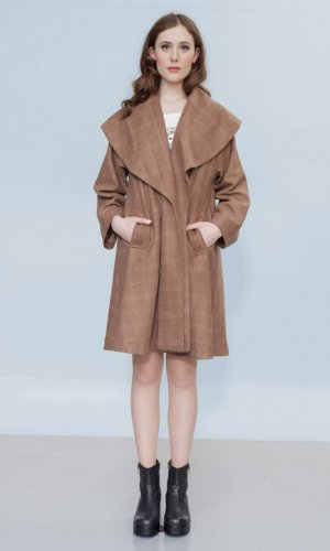 Stefanie's Stitch Brown Coat