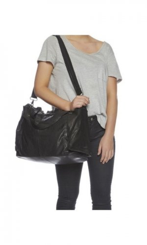 Phoenix Overnight Black Bag