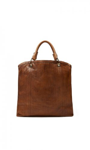 Nine To Five Brown Handbag