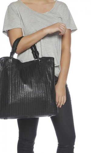Up In The Air Black Handbag