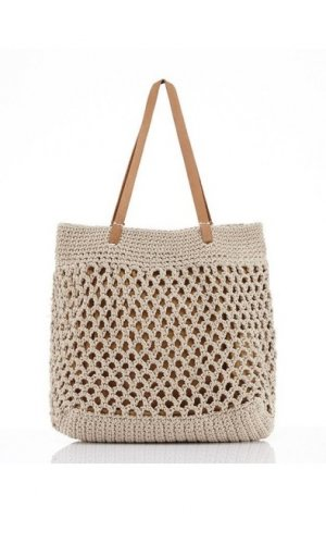 Mykonos Tote Beach Bag
