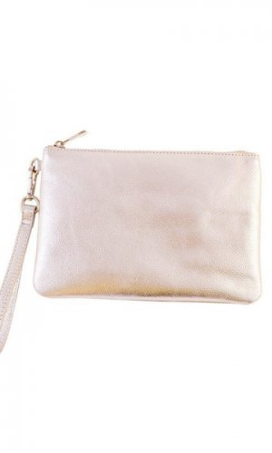 Roxy Metallic Clutch