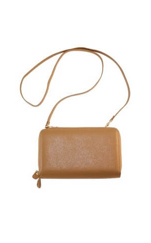 Charlize Brown Leather Wallet