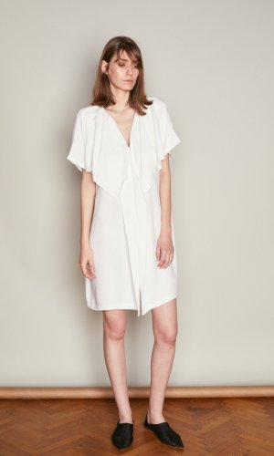 Acurrator White Dress