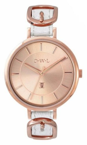 Mayfair Buckle Rose Gold Watch