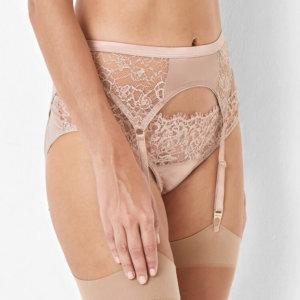 Abbie Lace Suspender Belt