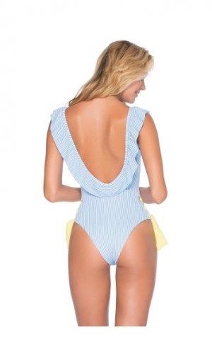 Marina Ruffled One Piece Swimsuit