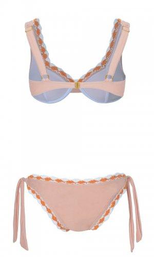 Saffron Peach Bikini Set