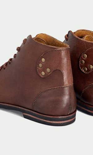 Modern Brown Derby Boots