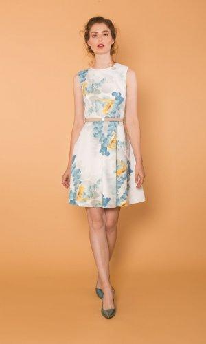 Laura Printed Summer Dress
