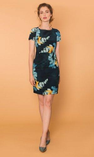 Margarete Silk Summer Dress