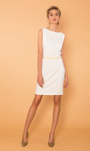 Sophia Elegant White Dress